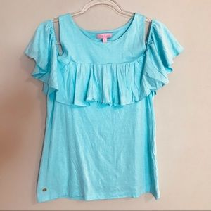 LILLY PULITZER   Small   Off-Shoulder   SOFT!!!